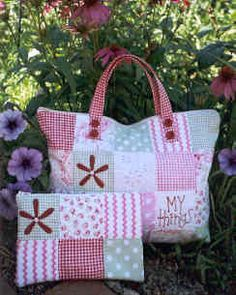 Patchwork Bag Patterns - Hatched And Patched & others
