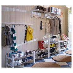 Ikea Tjusig Home Decor Shoe Rack, White Storage Spaces, Ikea, Stylish Bedroom, Small Storage, Shoe Rack, Rack, Stylish Bedroom Design, Ikea Shoe Rack, Home Decor