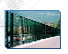 The GRIGLIATO system is a heavy duty fence product for demanding industrial and commercial applications.  We are offering standard design solution as well as custom designs.