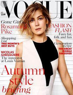 Розамунд Пайк для Vogue UK, октябрь 2014. -   Далее: http://vikagreen.ru/rozamund-pajk-dlya-vogue-uk-oktyabr-2014/