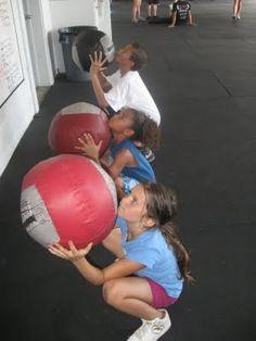 Crossfit Kids - Wall Ball