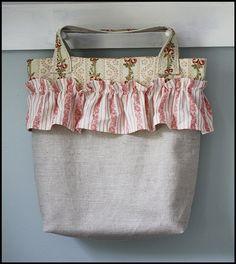 Posh Ruffled Bag
