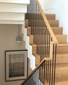 Modern Staircase Design Ideas - Stairs are so usual that you don't give them a doubt. Have a look at best 10 examples of modern staircase that are as spectacular as they are . Stairway Railing Ideas, Stairs And Staircase, Stair Railing Design, Metal Stairs, Staircase Makeover, Modern Stairs, House Stairs, Stair Case Railing Ideas, Staircase Pictures