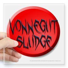 Mordichai Music UniVerse Merchandise: Red Button Vonnegut Sludge Sticker: New 'Red Button' design for Vonnegut Sludge by Mordichai. Red Button, Post Punk, Universe, Posters, Buttons, Stickers, Music, Musica, Musik