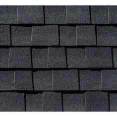GAF Timberline Natural Shadow Charcoal Lifetime Shingles (33.3 sq. ft. per Bundle)-0601180 - The Home Depot