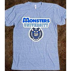 Monsters University  - Marvel Designs - Skreened T ($27.99)