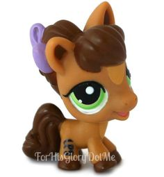 Littlest Pet Shop baby pony. See more in our Ebay Store ~ www.ForHisGloryDotMe.com