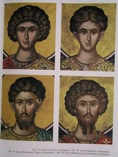 Mythology Art, Byzantine Art, Renaissance Art, Face Icon, Orthodox Christian Icons, Art, Funny Tattoos, Art Icon, Angel Art