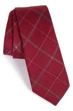 The Tie Bar The Tie Bar Plaid Silk & Wool Tie available at #Nordstrom
