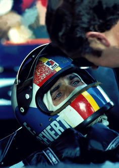 You'd just melt when you saw him! It was his eyes! He was a real ladies man. He was absolutely dishy. A real charmer. -François Cevert-