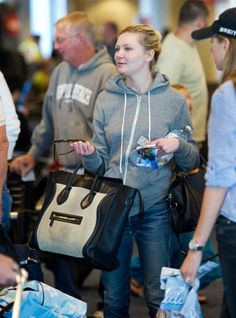 purses celine - Juliana Hough \u0026amp; her Celine Leather Small Square Phantom Luggage ...