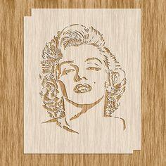MM0100 - Marilyn Monroe Stencil