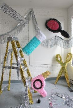 Hair Piñatas by The House That Lars Built!