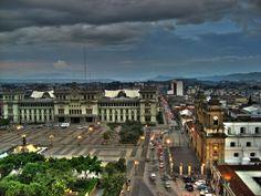 Palacio Nacional, Guatemala, Guatemala.