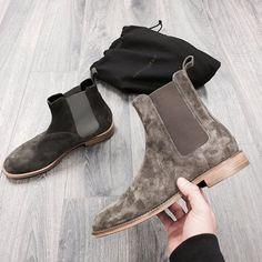 New vs. Old. The development of the Represent Chelsea boot. #representclo #representtalk by representtalk http://ift.tt/1si5oAJ