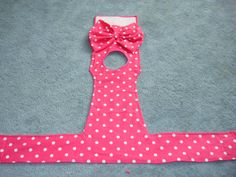 Hot Pink with white Polka Dots Dog Diaper / Panties by CodysHaven
