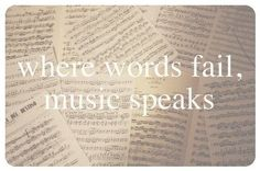 even though words rarely fail...