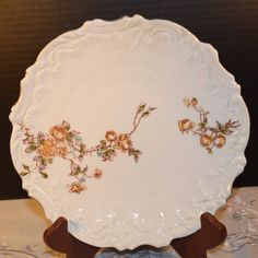 Check out this item in my Etsy shop https://www.etsy.com/listing/254306047/fall-rose-embossed-plate-vintage-autumn