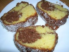 Kokosovo - šľahačková bábovka (fotorecept) French Toast, Cheesecake, Muffin, Breakfast, Desserts, Food, Morning Coffee, Tailgate Desserts, Deserts