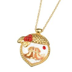 Chip 'N Dale Charm Necklace