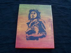 Bob Marley Woodburning W/ Rasta Accents and High by CrucialCulture, $37.77