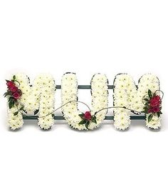Funeral letters MUM - Passion For Flowers Liverpool