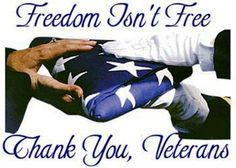 freedom isint free   thank you veterans