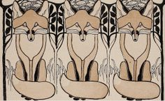 Foxes from Jugend Magazine