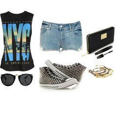 Simple, created by monmondefou on Polyvore