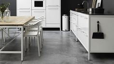 Sealed Concrete Floors are so clean looking