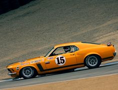 1970 BOSS 302 Trans-Am, Parnelli Jones car.