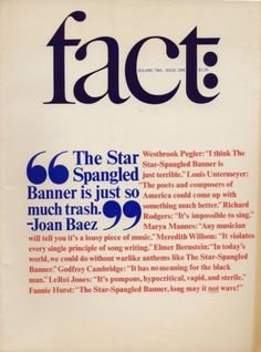 Fact magazine Lubalin 1965