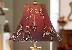 How To Clean Lamp Shades Interesting How To Clean An Old Yellowed Lampshade  Pinterest  Tea Stains Design Ideas