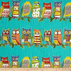Screen printed on cotton slub duck (slub cloth has a linen appearance), this versatile medium/heavyweight fabric is perfect for window accents (draperies, valances, curtains and swags), accent pillows, bed skirts, duvet covers, slipcovers , upholstery and other home decor accents. Create handbags, tote bags, aprons and more. Colors include blue, red, yellow, white, black, red, green, orange and grey.