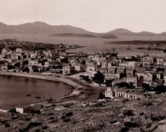 Pireas - Pasalimani ~1880 -ag. Nikolaos - Pcytaleia Old Photos, Vintage Photos, Greece History, Greece Pictures, London Hotels, Old City, East Coast, Athens, Paris Skyline