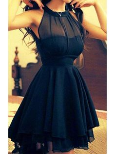 Prom Dresses For Teens, Elegant Navy Blue Homecoming Dress Chiffon Short Prom Dress Sweet 16 Gowns Modest Evening Gowns For Teens Girls Dresses Modest Sweet 16 Dresses, Sweet Dress, Cheap Dresses, Pretty Dresses, Beautiful Dresses, Awesome Dresses, Gorgeous Dress, Discount Dresses, Hello Gorgeous