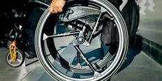 "Oh, look, somebody re-invented the wheel.  ""An Ingenious Shock-Absorbing Wheel for Bikes and Wheelchairs"""