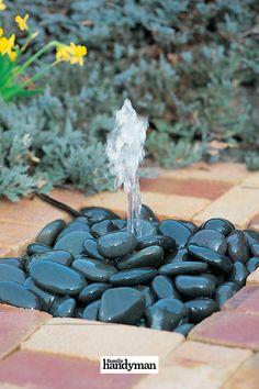 Backyard Projects, Outdoor Projects, Backyard Ideas, Ponds Backyard, Backyard Waterfalls, Garden Ponds, Koi Ponds, Garden Fountains, Outdoor Fountains