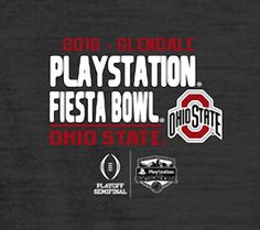 12-31-2016 OHIO STATE PLAYSTATION FIESTA BOWL T-SHIRT.