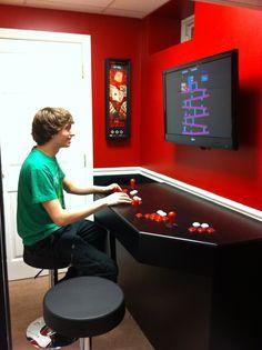 arcade cabinet plans golden tee - Google Search