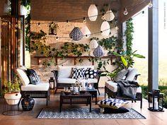 Mit unseren gemütlichen Gartenmöbeln und dekorativer Beleuchtung schaffst du dir dein eigenes kleines Paradies - damit du den Sommer so richtig genießen kannst.