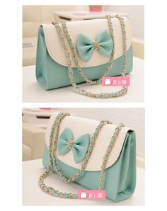 2013 summer new Korean version of a small bag fresh bow chain bag shoulder  bag diagonal 2e61e966f821c