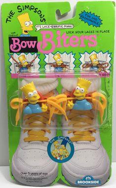 1990 Brookside The Simpsons Bow Biters - Bart Simpson 83154b0f0
