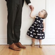 little lady and her daddy
