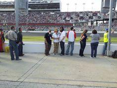 2013 Daytona Speed Weeks - In the Pits John Godwin & Jep Robertson with my sister, Melba Hayden