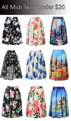 All kinds of midi skirts from Choies.com suitable for the autumn and winter! Come and get one for your party or dating!