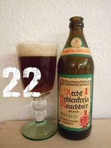 Schlenkerla Rauchweizen... good beer