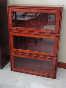 Amish Highland Deluxe Barrister Bookcase