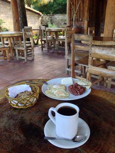 Desayuno tipico en Azacualpa, Chalatenango, El Salvador | suchitoto.tours@gmail.com