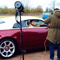Henry doing a photoshoot for ShortList Magazine. Issue coming out sometime on June or July for TMFU Premier. 2015